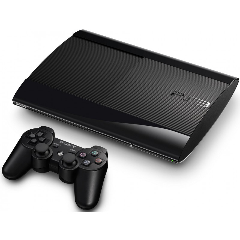 Playstation 3 12GB + 3 Jeux