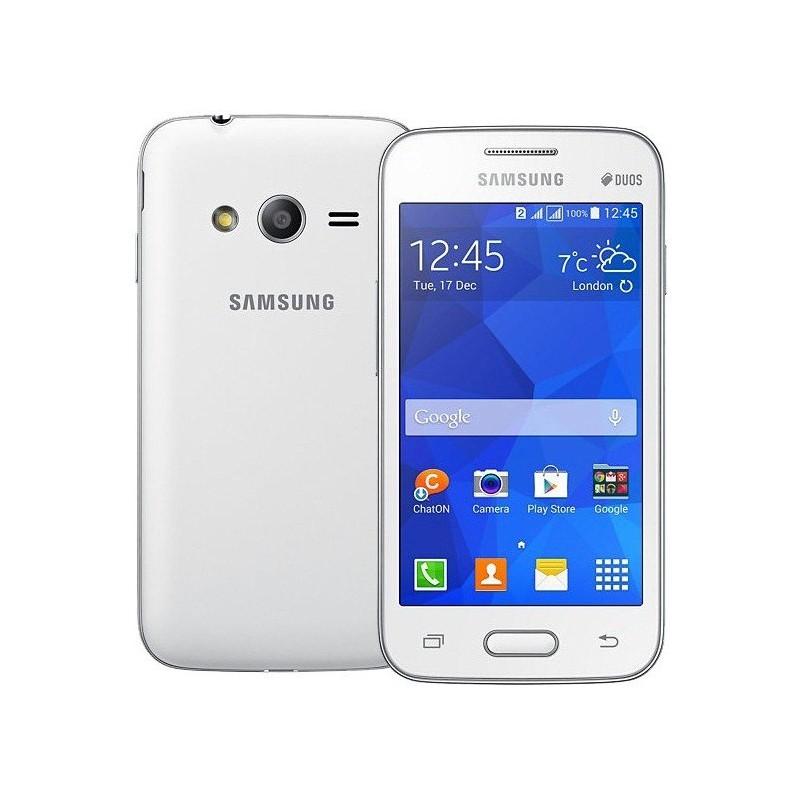 Téléphone Portable Samsung Galaxy Ace 4 Neo Lite / Double SIM / Blanc + SIM Offerte