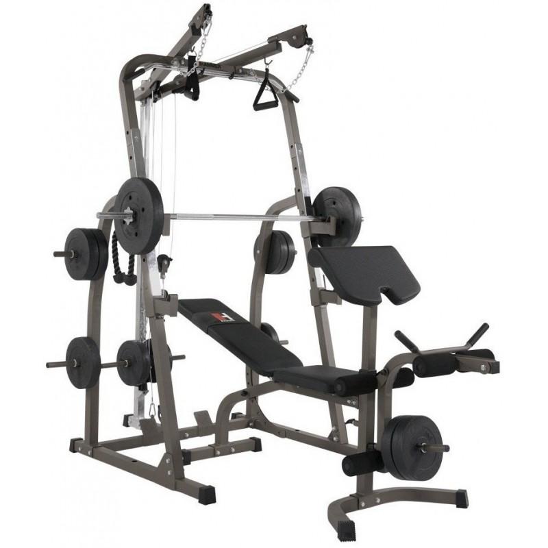 Banc de musculation professionnel hammer solid xp - Banc de musculation complet professionnel ...