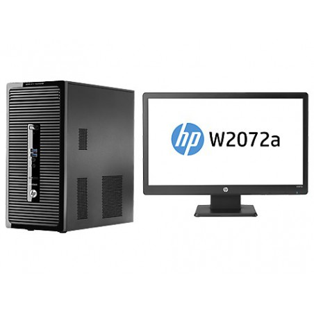 Pc de bureau HP ProDesk 400 G2 / i5 4é Gén / 4 Go