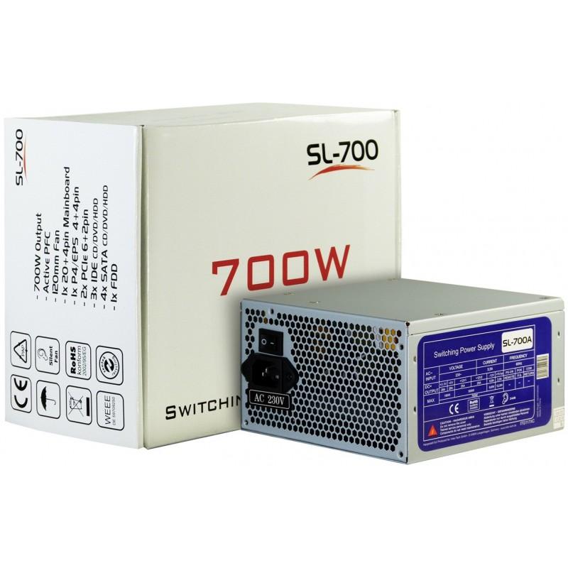 Boite d'alimentation Inter-Tech SL-700A / 700W