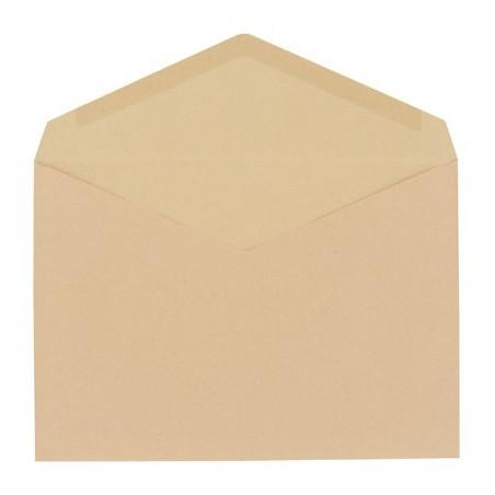 10x Enveloppes Kraft 162 x 229 mm