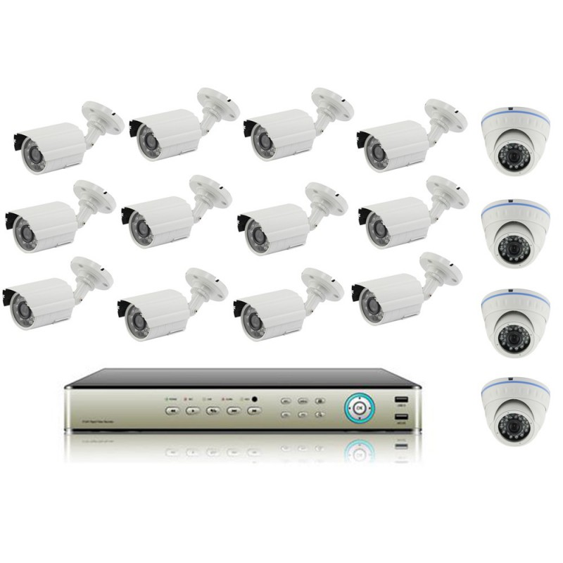 KitDVR Analogique + 16 Caméras ACESEE AS-1690HE