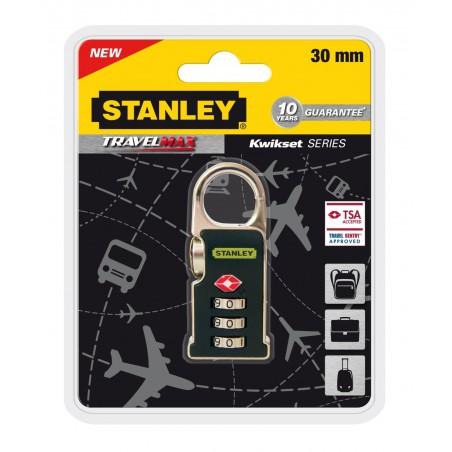 Cadenas de voyage Stanley à combinaison 3 chiffres / Ance porte-clé 30mm