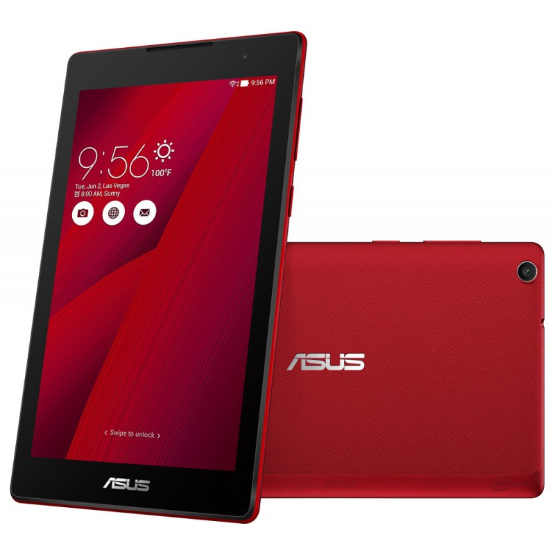 Tablette Asus ZenPad 7.0 / 3G / Double SIM / Rouge + Etui