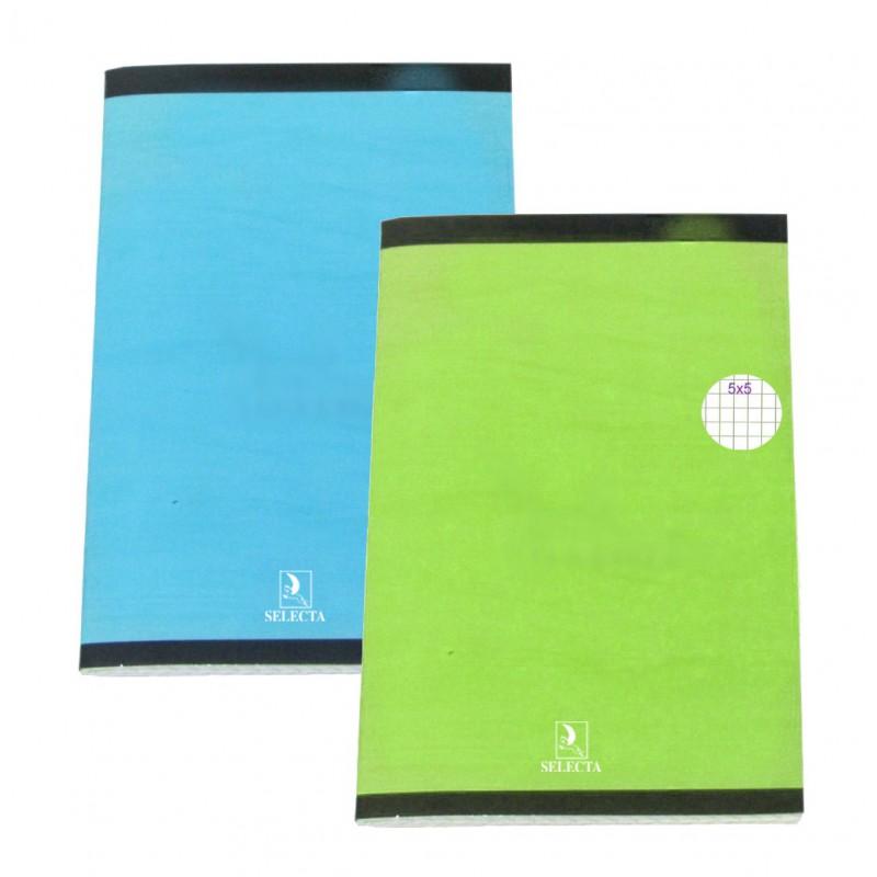 Carnet piqure Selecta 110 x 170 / 96 pages 5x5