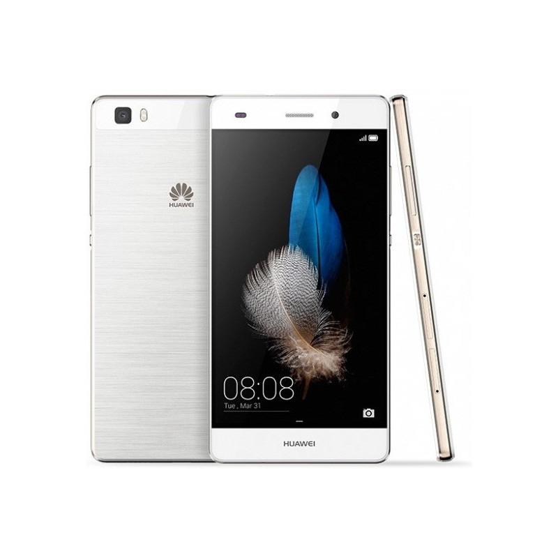 Téléphone Portable Huawei Ascend P8 Lite / Blanc + SIM Offerte