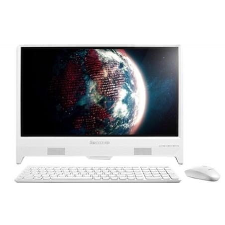 Pc de bureau Lenovo C260 / Quad Core / 4Go / Blanc