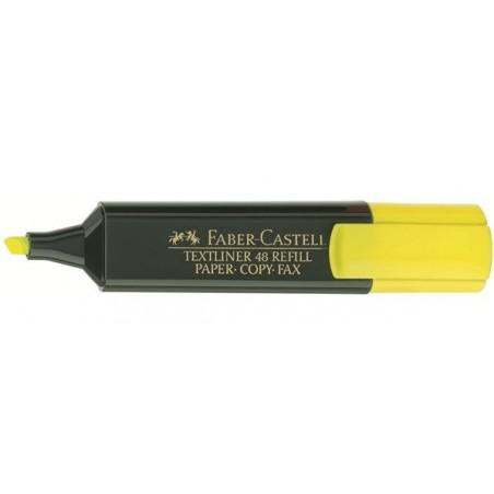 Surligneur Faber-Castell TEXTLINER 48 / Jaune