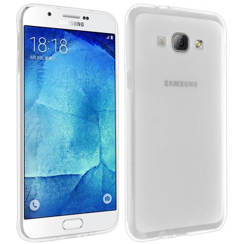 Coque en Silicone Pour Samsung Galaxy A8