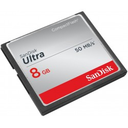 Carte mémoire Sandisk Ultra Compact Flash 8 Go