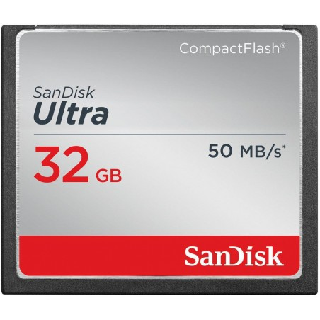 Carte mémoire Sandisk Ultra Compact Flash 16 Go