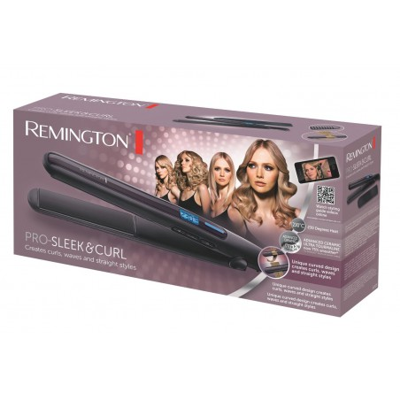 Lisseur Boucleur Pro-Sleek & Curl Remington S6505