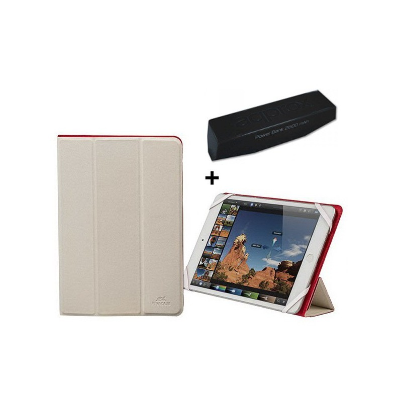 "Pack Etui de protection 7""-8"" + Power Bank 2600mAh"