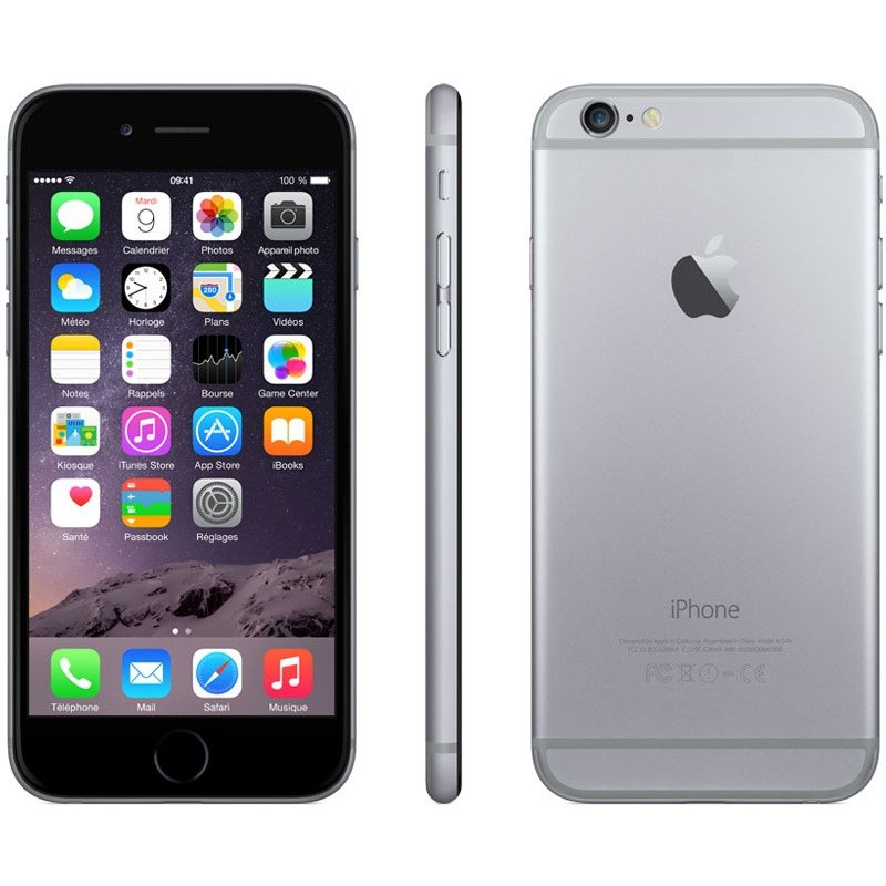 Téléphone portable Apple iPhone 6 Plus / 64 Go / Gris Sidéral