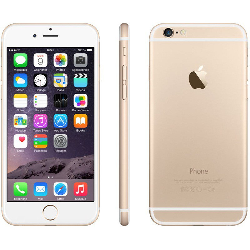 t l phone portable apple iphone 6 plus 128 go gold. Black Bedroom Furniture Sets. Home Design Ideas