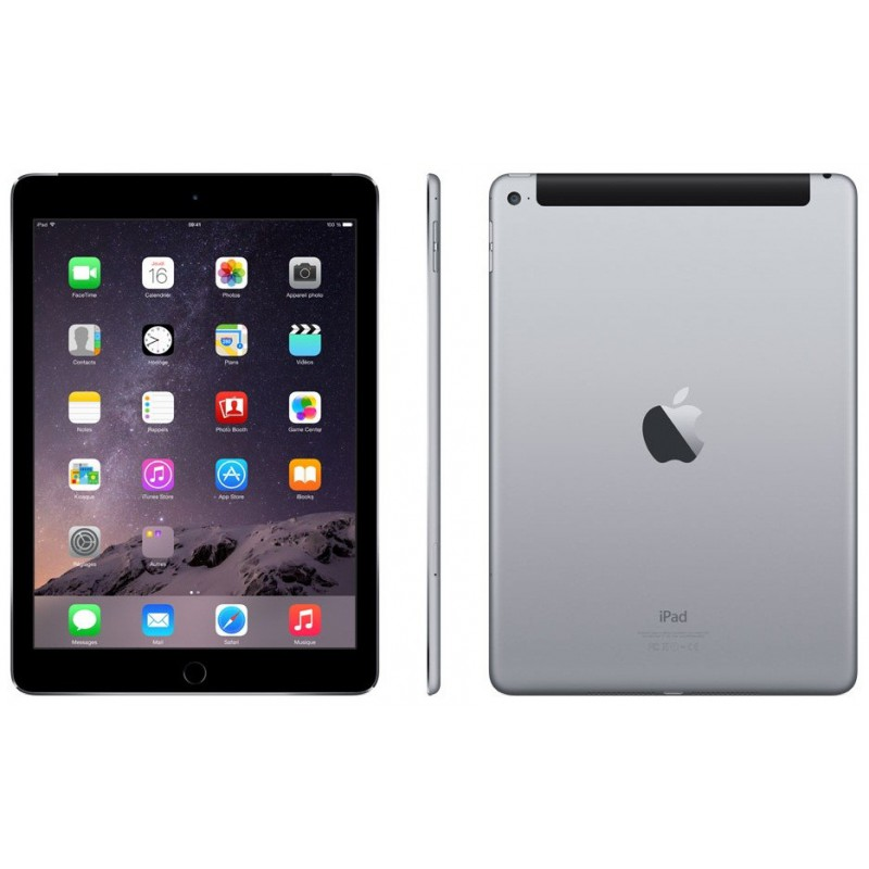 iPad Air 2 Retina 64 Go Wifi + Cellular / Gris sidéral