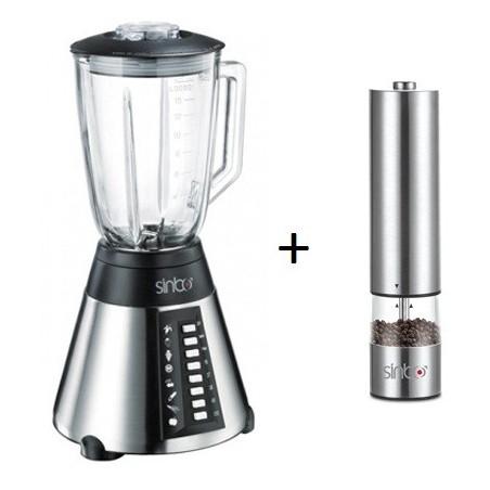 Pack: Blender SINBO SHB-3054 + Moulin à poivre et sel SHB-3071