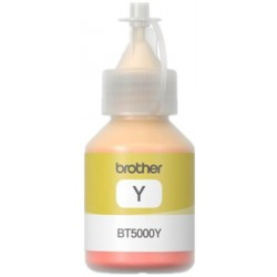 Bouteille d'encre Brother pour DCP-T300-T500 100ml / Yellow