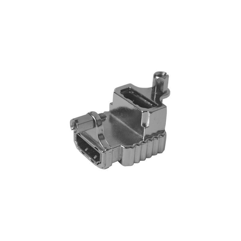 Adaptateur HDMI Femelle / Femelle 90°