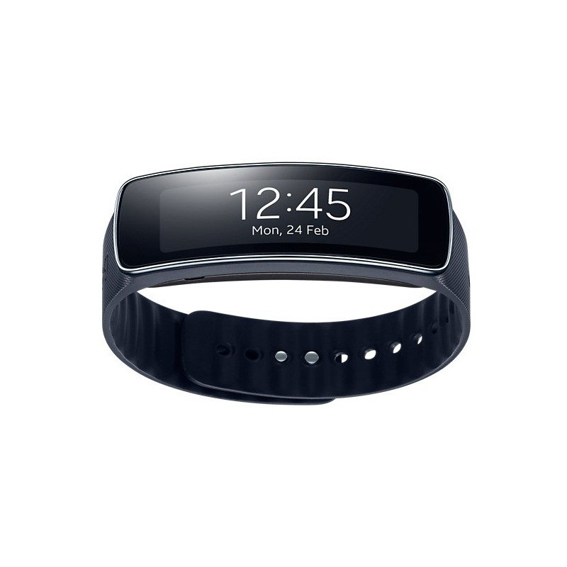 montre connect e samsung galaxy gear fit noir. Black Bedroom Furniture Sets. Home Design Ideas