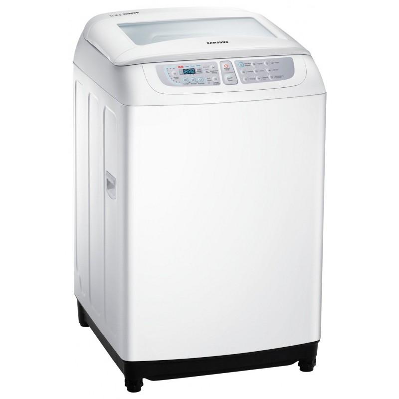 machine laver chargement par le haut samsung 15kg blanc. Black Bedroom Furniture Sets. Home Design Ideas