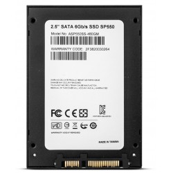 "Disque Dur Adata SSD Premier SP550 / 480 Go / 2.5"" / SATA III"