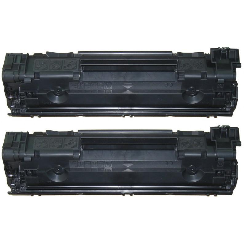 Pack 2 Toners HP 435XD / 436XD / 285XD