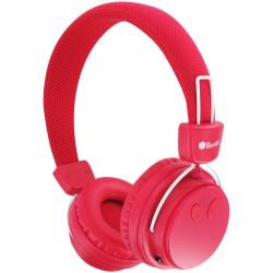 Casque Bluetooth BeeWi Rouge + Câble