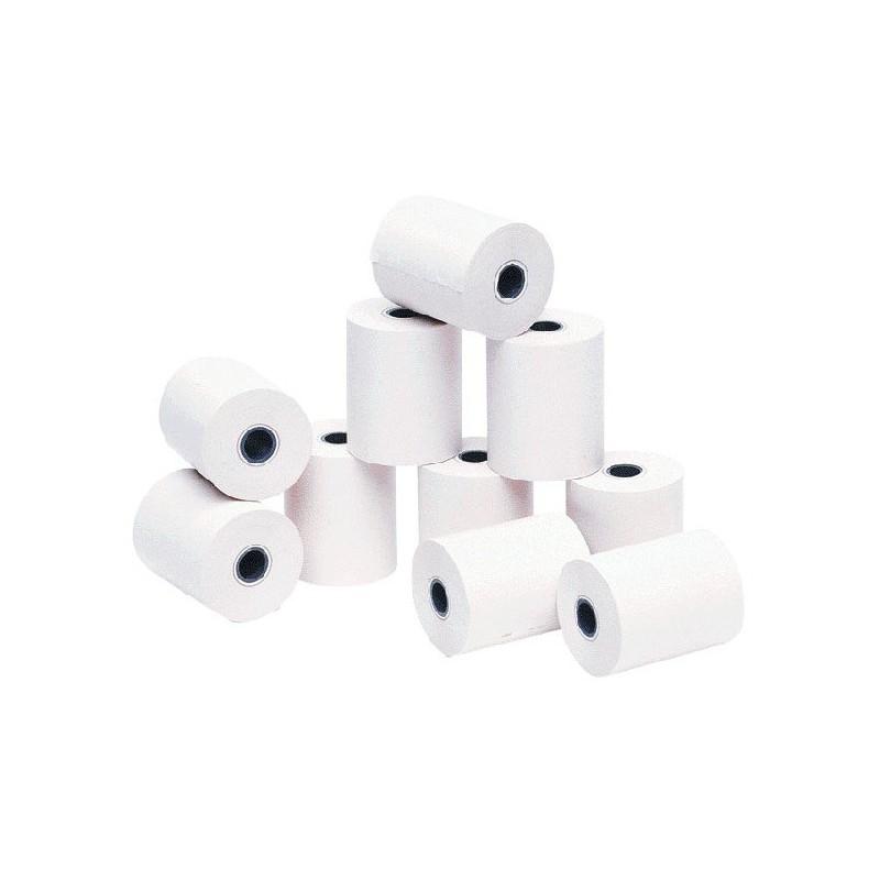 Lot de 10 bobines de papier thermique 56 x 60