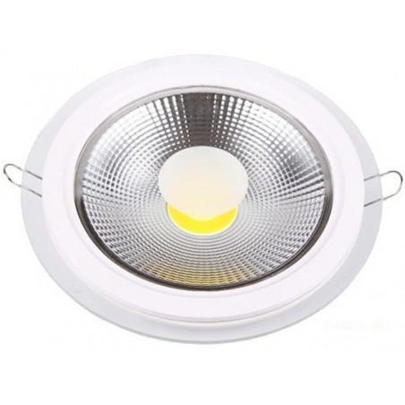 Panneau LED Plafonnier carré COB 10W Lumière du jour