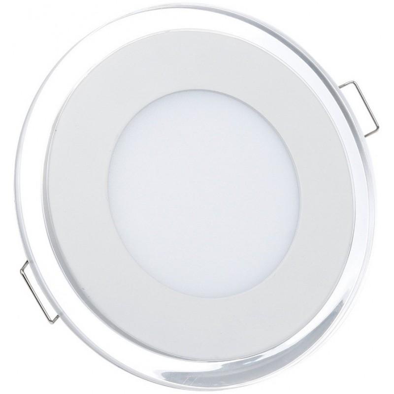 Panneau LED SMD Plafonnier Rond 18W  Blanc Chaud