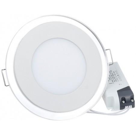 Panneau LED Plafonnier rond 9W Blanc 145mm