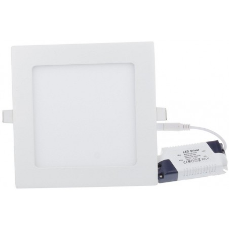 Panneau LED Plafonnier rond 18W Blanc Chaud 22.5cm