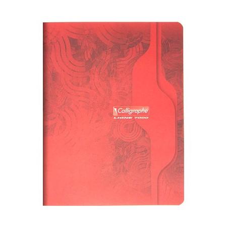 Cahier piqué Clairefontaine 170 x 220 / 96 pages Séyès 70g