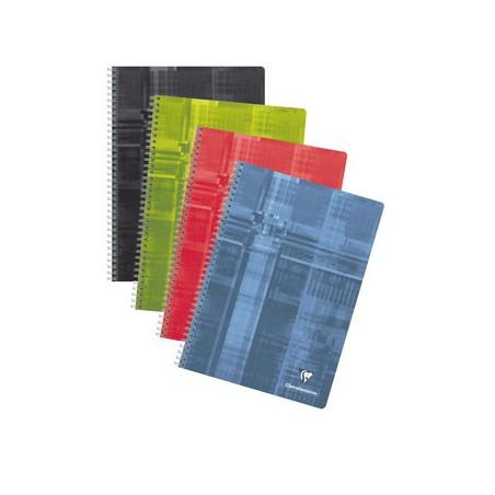 Cahier reliure intégrale Clairefontaine 210 x 297 / 180 pages Séyès