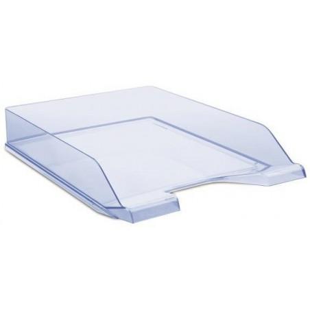 Corbeille à courrier DONAU / Bleu Transparent