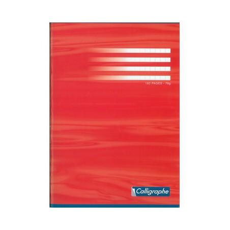 Cahier piqué Clairefontaine 210 x 297 / 192 pages Séyès 70g