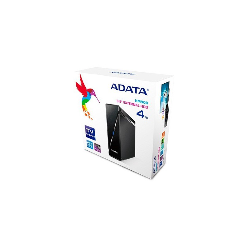 disque dur externe adata hm900 usb 3 0 4 to noir. Black Bedroom Furniture Sets. Home Design Ideas