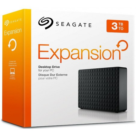 "Disque dur externe 3.5"" Seagate Expansion 2 To USB 3.0"