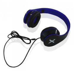 Casque écouteur avec Micro stéréo Urbain Aqprox / Bleu