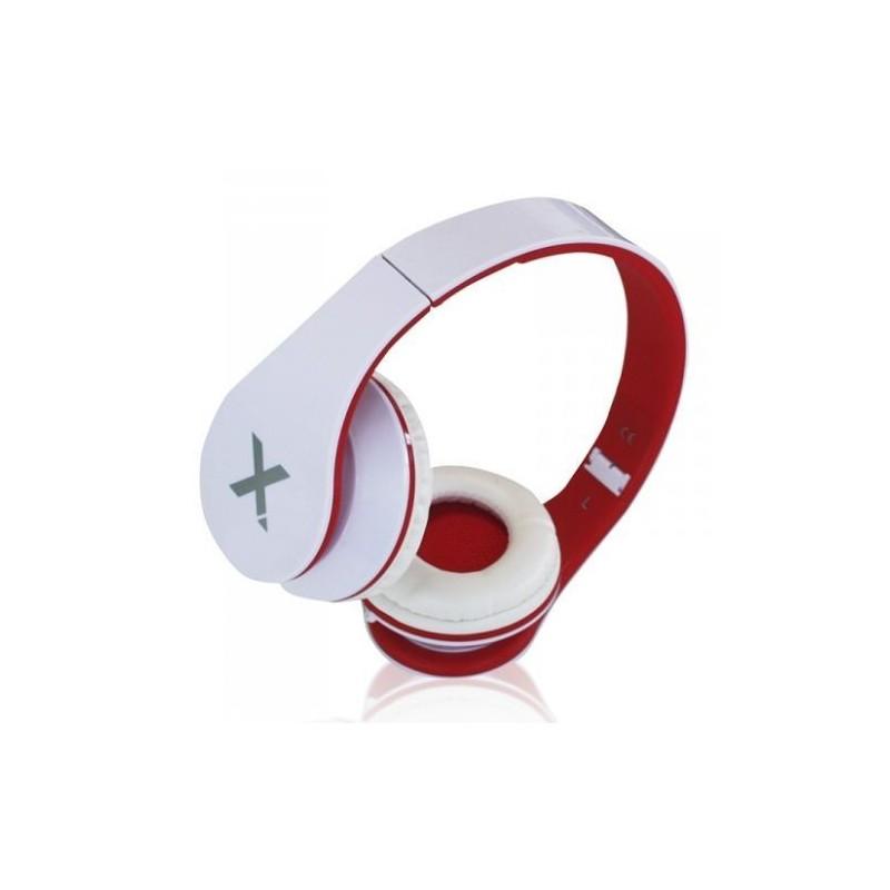 Casque écouteur stéréo Urbain Aqprox / Rouge