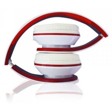 Casque écouteur avec Micro stéréo Urbain Aqprox / Rouge