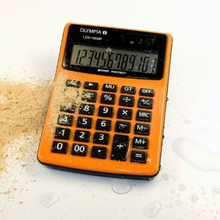 Calculatrice de bureau 12 chiffres Olympia LCD 1000P