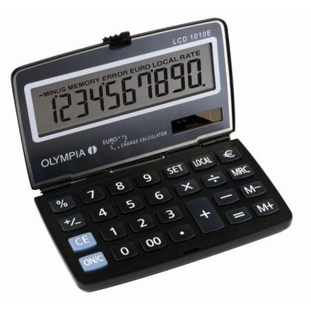 Calculatrice de poche 10 chiffres Olympia LCD 1010E