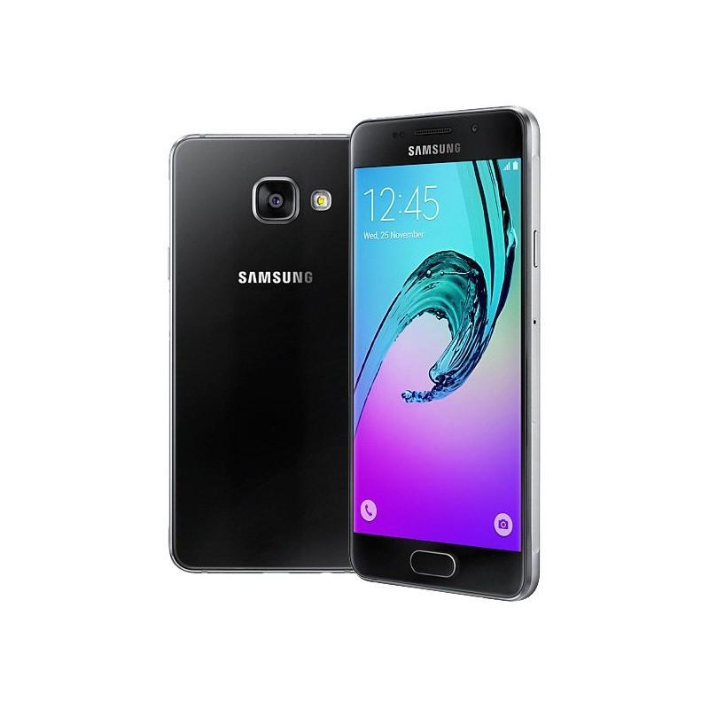 Téléphone Portable Samsung Galaxy A3 / 4G / Double SIM / Noir + SIM Offerte