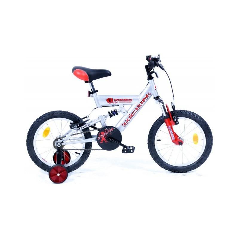 """Bicyclette VTT Rodeo 16"""" Kickin Pour Garçons"""
