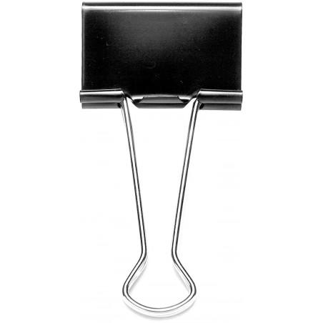 Boite de 60 mini pinces 15 mm / Noir