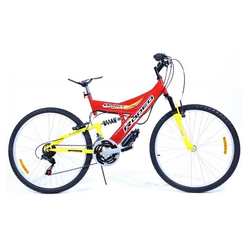 "Bicyclette VTT Blast Rodeo 26"" Gris"