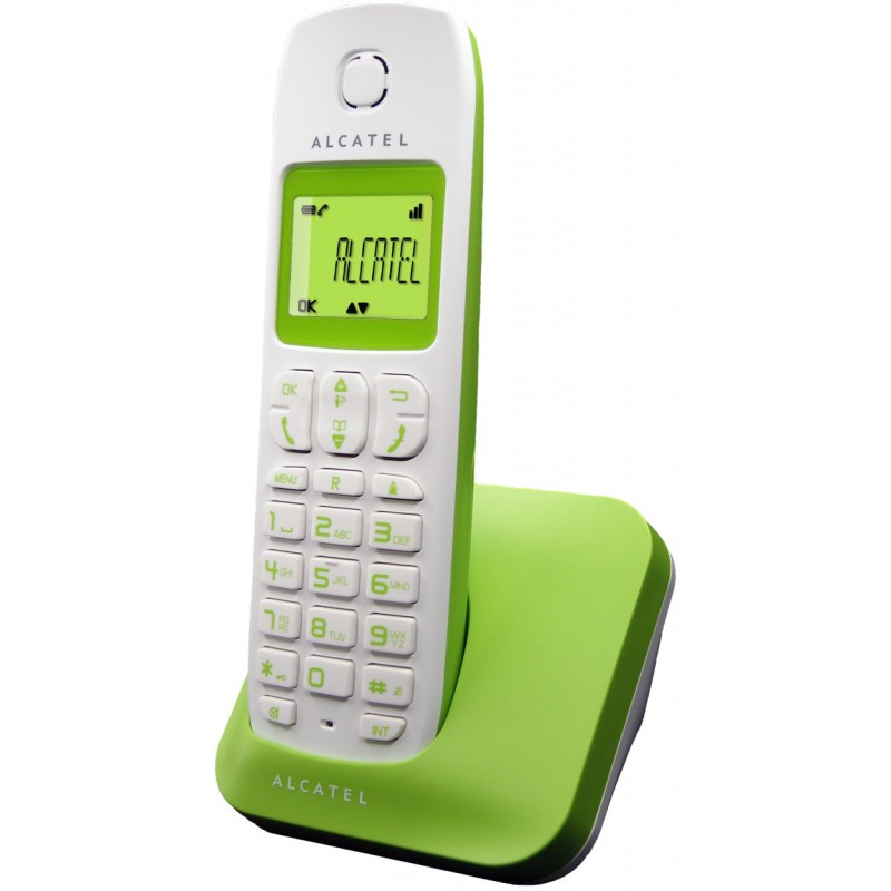 Téléphone Alcatel E130 / Vert